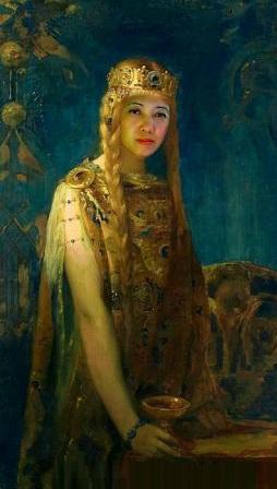 Celtic Queen Princess Sunniva Historic