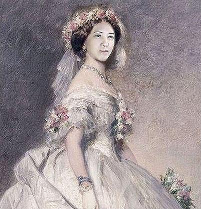 Princess Alice in Wedding Dress